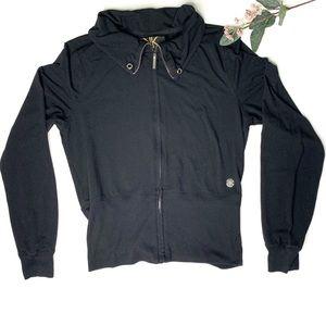 Kardashian Kollection Zip Up Track Jacket Large